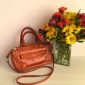 🧡 Rebecca Minkoff leather handbag 🧡